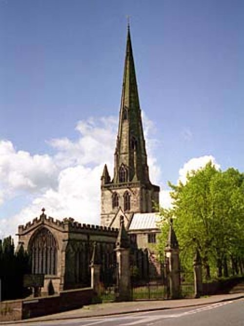 St Oswald S Church Our Ashbourne